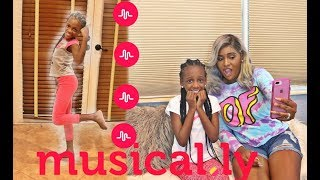 REACTING TO MY 9 YEAR OLD DAUGHTER'S MUSICAL.LYS