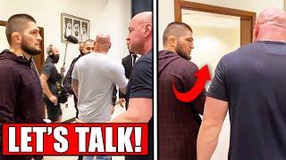 Dana White MEETS with Khabib about UFC return, UFC Fight Island 7, Neil Magny on Michael Chiesa