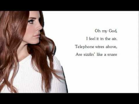 Lana Del Rey Summertime Sadness Lyrics