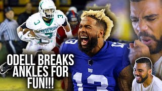 Odell Beckham Jr's High School Highlights Are EXACTLY What You'd Expect!!! [Reaction]