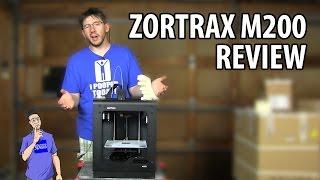 3D Printing: Zortrax m200 3D Printer Review