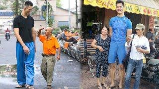 Choa'ng Với Cuộc Sống Của Chàng Trai Cao 2,2 Mét Nặng 120Kg Ở Sài Gòn - TIN TỨC 24H TV
