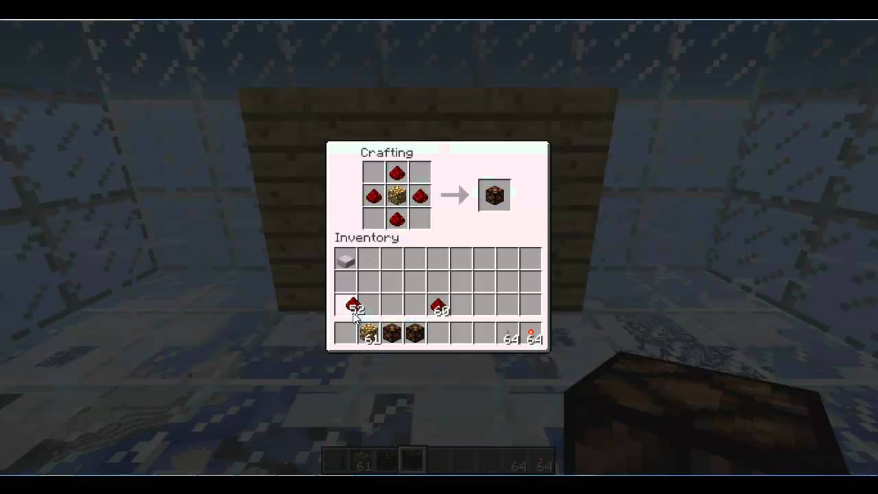 How To Craft A Redstone Lamp In Minecraft
