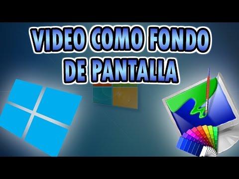 Como poner un video como fondo de pantalla en Windows 8 | Personalizacion de PC - Tutoriales