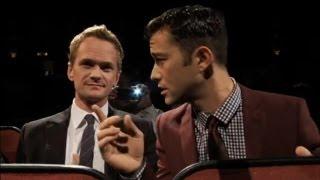 [HD] Joseph Gordon Levitt and Neil Patrick Harris at HitRECord Fall Formal