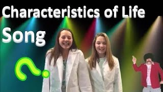 Characteristics of Living Things Song (Stayin' Alive Parody)