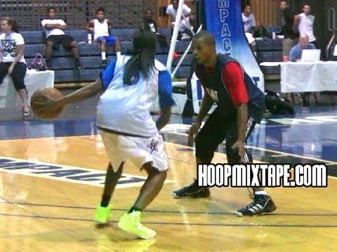 Girl Goes IN On NBA Pro Sebastian Telfair!!! Cappie Pondexter Holds Her Own!!