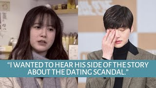 Goo Hye Sun Claims Ahn Jae Hyun Never Denied His Dating Scandal with a Female Actress