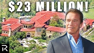 How Arnold Schwarzenegger Spent $400 Million