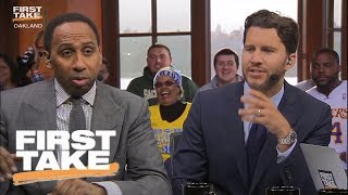 Stephen A. Smith And Will Cain Troll Each Other | First Take | June 12, 2017