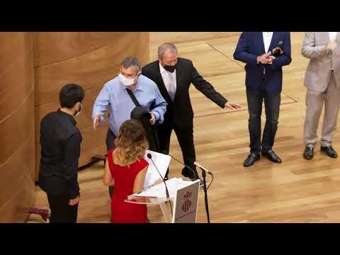 II Concurso Internacional de Violín 'CullerArts' - Entrega de premios