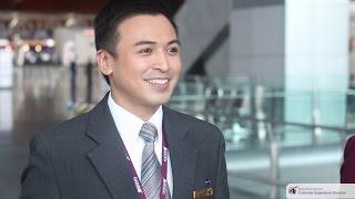 Boarding For Success – Elbert's Cabin Crew Career with Qatar Airways
