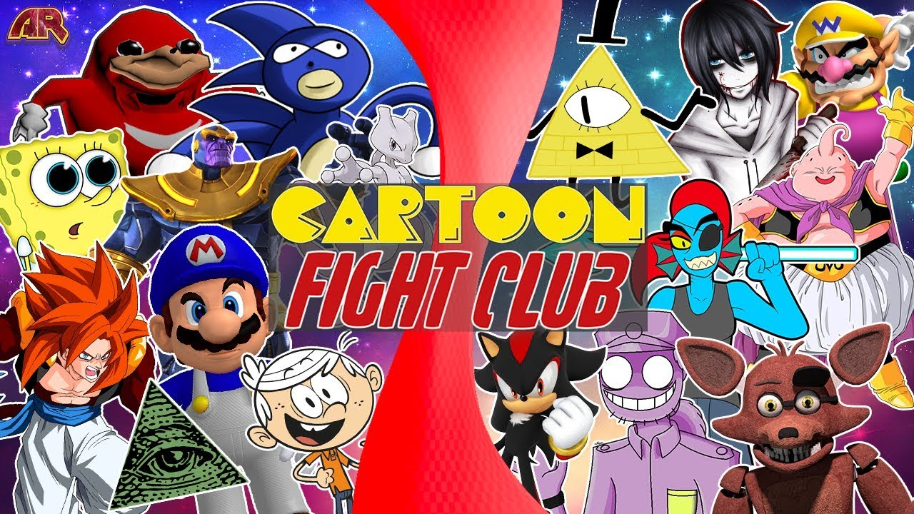 all-cartoon-fighting-games