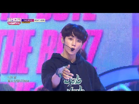 Show Champion EP.284 THE BOYZ -Right Here