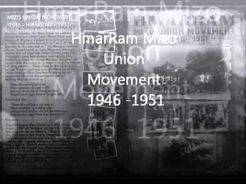 HMAR RAM - MIZO UNION MOVEMENT 1946 -1951 : Part 1