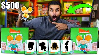 "Opening 400$ Worth Of NICKELODEON ""Loyal Subjects"" Mystery Figures 2!! *I ACTUALLY PULLED IT!!*"