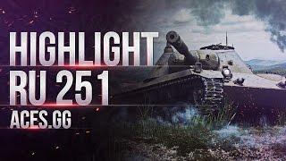Потный бой или RU 251 нагибает