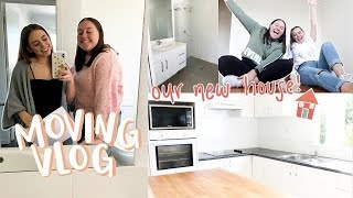 moving vlog #1   finding our new home + empty house tour!!