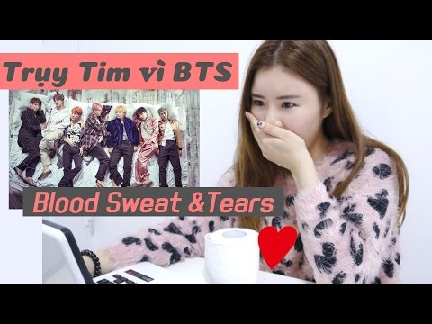 Trụy Tim vì BTS - Blood Sweat & Tears (방탄소년단-피 땀 눈물)