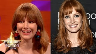Are Jessica Chastain & Bryce Dallas Howard The Same Person!? | The Graham Norton Show