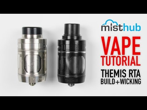 video Digiflavor Themis 25mm Dual Coil Deck Rta