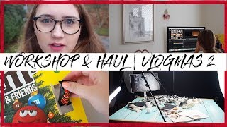 Makyna016 - WORKSHOP & HAUL | VLOGMAS 2 | MAKYNA016 - Zdroj: