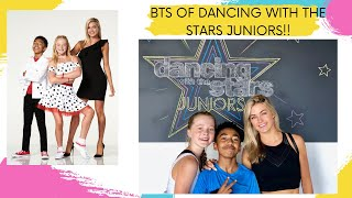 BTS OF DANCING WITH THE STARS JUNIORS!! *RYLEE'S FIRST KISS!!*