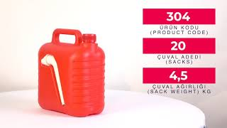 Plastic Jerry Can 5L