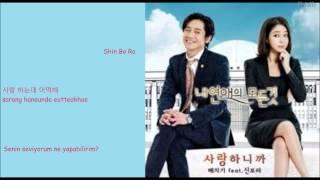 Baechigi ft.Shin Bora- Because I Love You  (사랑하니까) Türkçe Altyazılı(Hangul-Rom-Turkish sub)