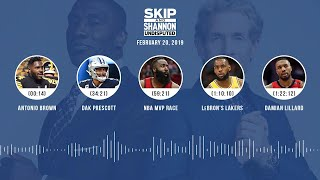 UNDISPUTED Audio Podcast (02.20.19) with Skip Bayless, Shannon Sharpe & Jenny Taft | UNDISPUTED