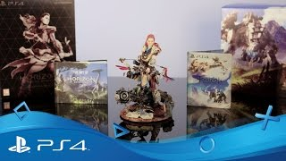 Horizon Zero Dawn - Collector's Edition First Unboxing