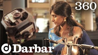 The First Ever 360 Indian Classical Music Video | Strings Synergy | Darbar Festival