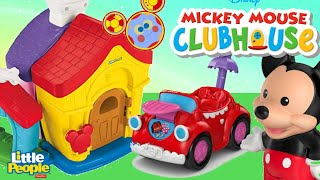 Mickey and Minnies House Little People Playset | Toys Unlimited