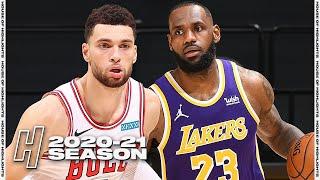 Chicago Bulls vs Los Angeles Lakers - Full Game Highlights | January 8, 2021 | 2020-21 NBA Season