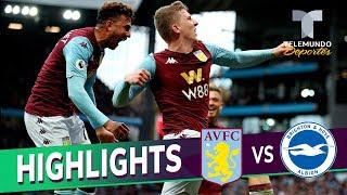 Aston Villa vs. Brighton: 2-1 Goals & Highlights | Premier League | Telemundo Deportes