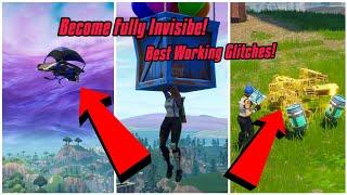 Top 5 Working Glitches In Fortnite (Become Invisible) Fortnite Glitches PS4/Xbox one 2018