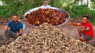 Chilli Prawns Recipe | Shrimp Fry With Chilli And Garlic | Grandpa kitchen