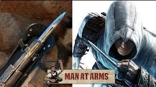 Hidden Blade & Pirate Cutlass (Assassin's Creed 4) - MAN AT ARMS