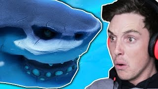 BIGGEST SHARK POSSIBLE! (Feed And Grow)