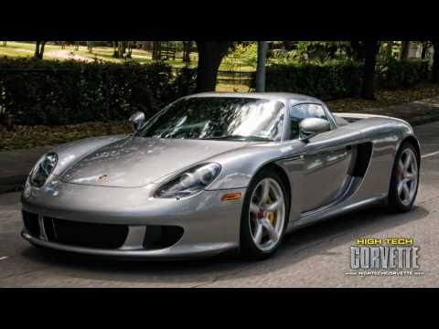 Porsche Carrera GT sight & sound