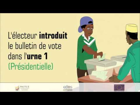 Voting instructions for Presidential and Governor elections - PACTE Comores II (FR)