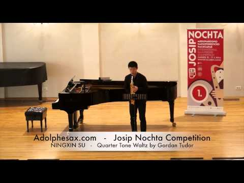 Josip Nochta Competition NINGXIN SU Sarabanda Suite no2 by J S Bach