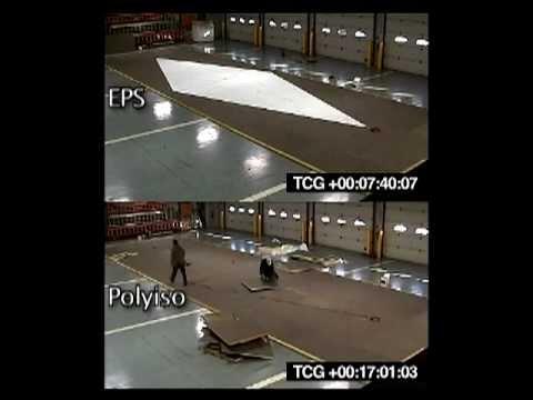 EPS vs. Polyiso Taper Roof Installation