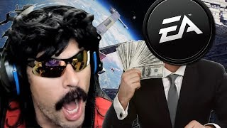 "DrDisRespect's Hilarious EA Rant - ""Worst Gaming Company Ever"""