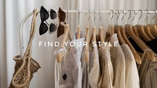HOW TO FIND YOUR PERSONAL STYLE | CURATE YOUR WARDROBE