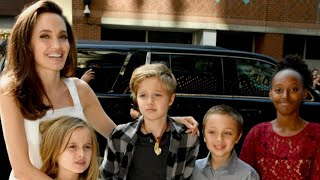 Angelina Jolie on Life After Brad Pitt, Calls Her Kids the 'Best Friends I've Ever Had'