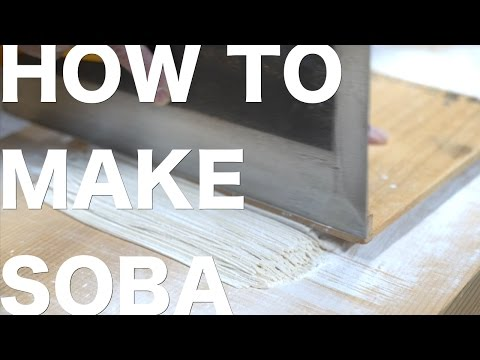 How to Make Soba Noodles