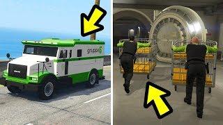 GTA 5 - What Happens if you Follow the Money Trucks?