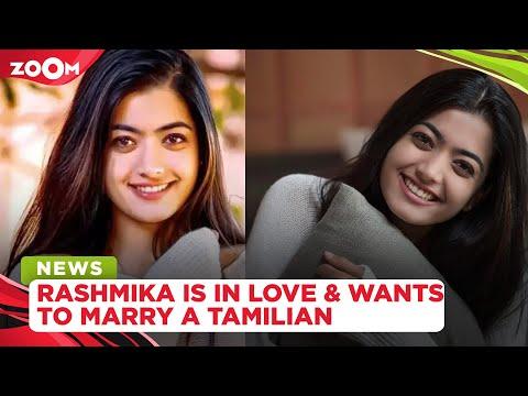 Rashmika Mandanna wants to be daughter-in-law of Tamil Nadu