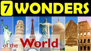 7 wonders of the World | Update your General Knowledge - YouTube